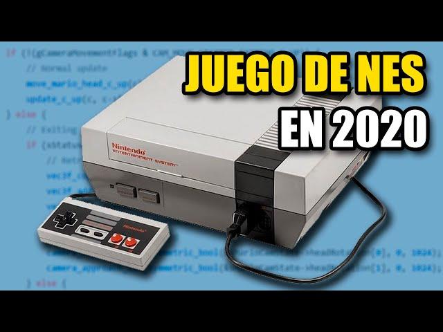 Crear un juego para NES en 2020