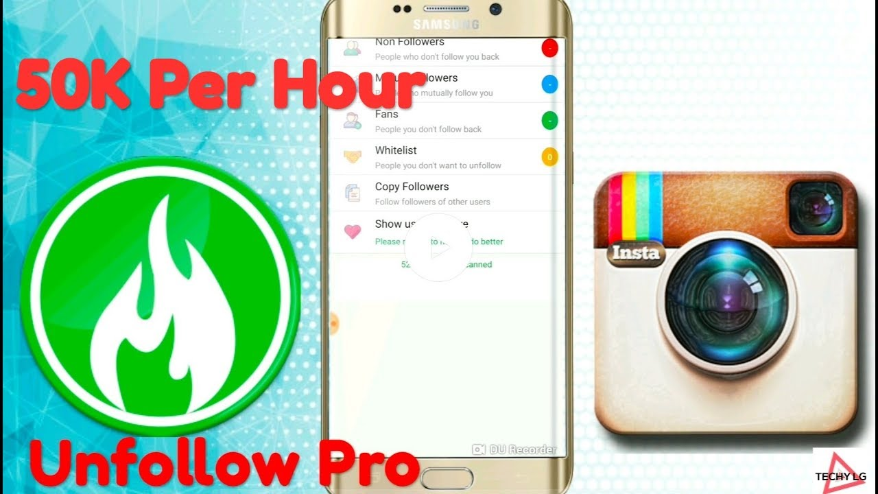 Unfollow For Instagram With Unfollow Pro App (2019)