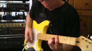 King Crimson - Three Of A Perfect Pair Guitar Cover (Belew Part): Daniel Whitting