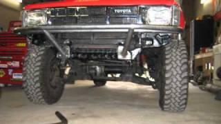 Toyota Winch Bumper Build Progress Part 1