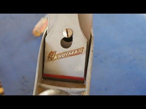 Vintage Stanley Handyman | Noob meets a $20 plane.