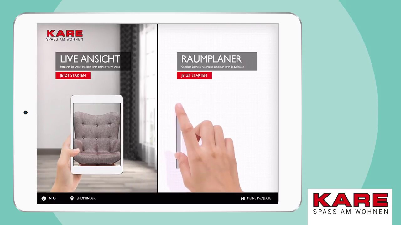 Kare Room Designer App Insert Kare Products Into A Virtual Room