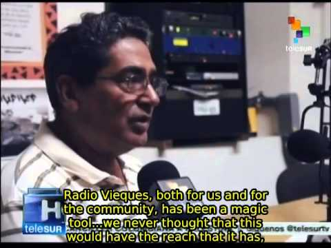 Puerto Rico: community radio emerges as a tool for peace in Vieques