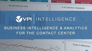 VPI Call Center Business Intelligence & Analytics Demo