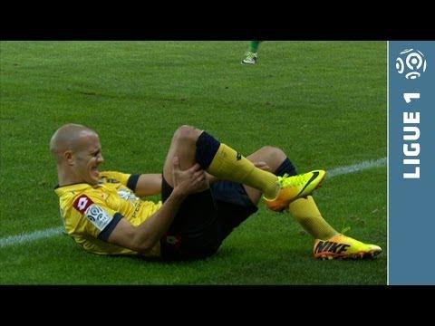 Double fracture for Guerbert - (Sochaux-Saint-Etienne) Ligue1  - 2013/2014