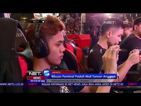 Kompetisi Mobile Legends, Ribuan Gamers Padati Mall Taman Anggrek - NET 5
