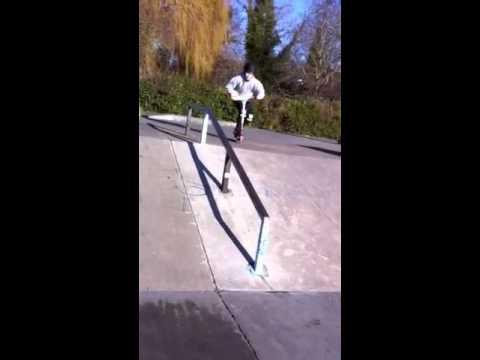 Down rail at dartford