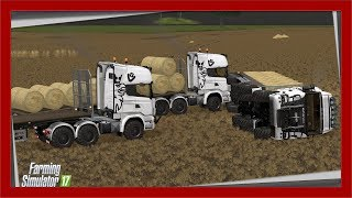 Wywrotka na Polu z Ładunkiem S10E19 | Farming Simulator 17