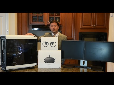 Gaming PC Build Video Kaby Lake Z270 Intel 7700K Oculus Rift Touch Unboxing Time Lapse 1080 SC EVGA