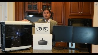 2017 VR PC Build Video Kaby Lake Z270 Intel 7700K Oculus Rift Touch Unboxing Time Lapse 1080 SC EVGA