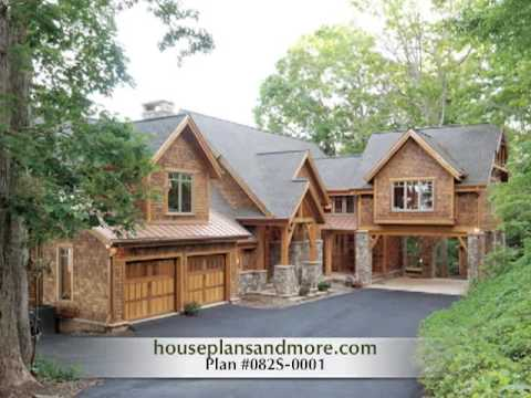 Rustic houses video 2 house plans and more youtube for Home designs video