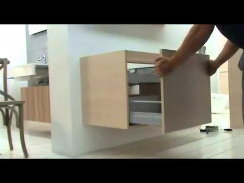Badkamermeubels alke demonteren lade youtube - Badkamer meubels ...
