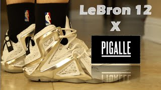 LeBron 12 x Pigalle Review On Feet
