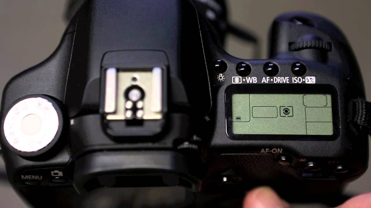 Canon 50D - White Balance settings