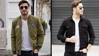 Erkek Kış / İlkbahar Kombinleri   Erkek Giyim Önerileri - Lookbook