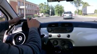 МИРа: Тест-драйв (обзор) автомобиля Фиат 500 (Fiat 500), часть 1