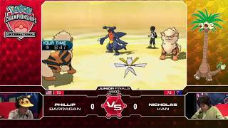 VGC Junior Finals - 2017 Pokemon International Championships North America
