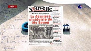 LA REVUE DES GRANDES UNES DU LUNDI 02 MARS 2020 - ÉQUINOXE TV
