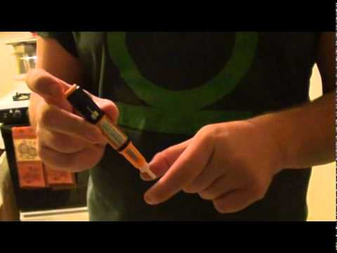 Giving J his Growth Hormone Injection-11 - YouTube