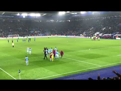 Pep Guardiola Joining In With We've Got Guardiola Song Vs Leicester City Away