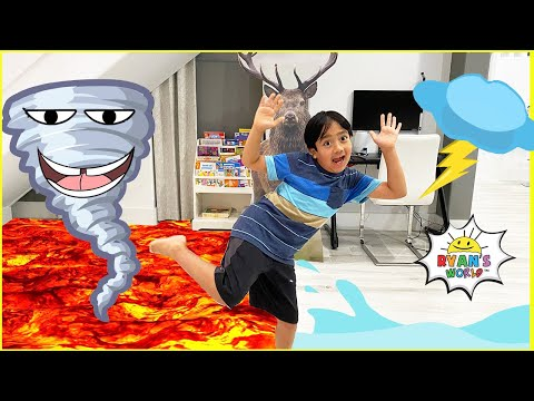 How Tornadoes are formed and more Natural Disasters for Kids learning Videos!!