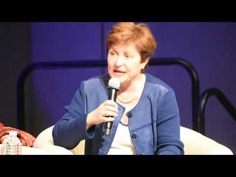 World Bank Group Chief Executive Officer, Kristalina Georgieva