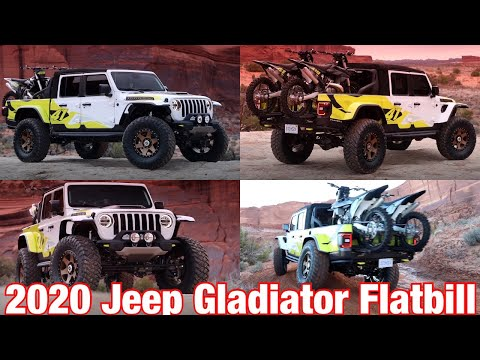 Mopar Today 2019 Easter Jeep Safari Featuring The 2020 Jeep Gladiator Flatbill Concept