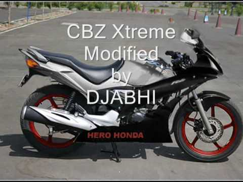 CBZ XTREME MODIFIED 2 models djabhi