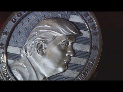 Russia Releases Silver Trump Commemorative Coin