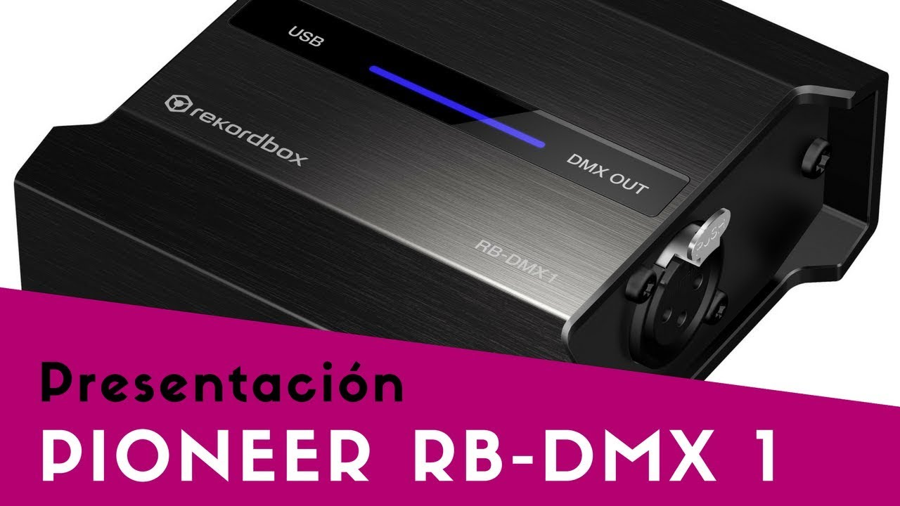 Pioneer dj rb-dmx1 dmx interface