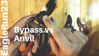 Pruner Types: Anvil vs Bypass