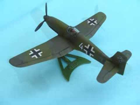 LINDBERG 1/72 Heinkel He100 - A Building Review