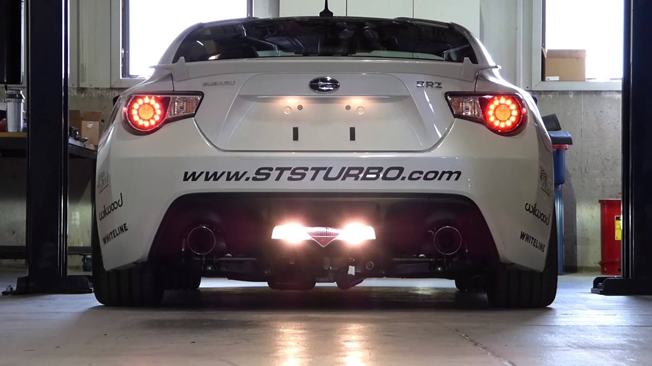 STS Turbo Subaru BRZ Scion FRS