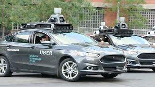 California halts self-driving Uber cars amid scare