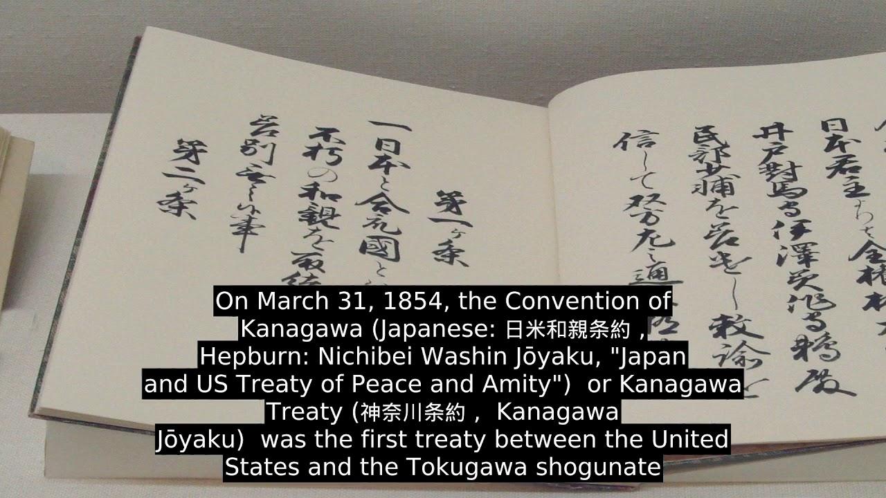 Convention Of Kanagawa - YouTube