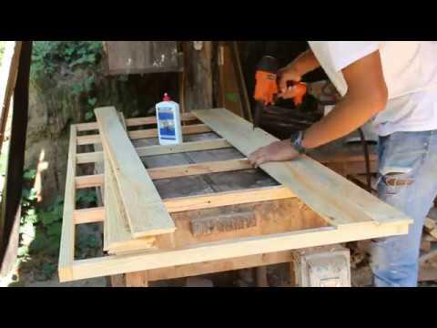 Making a wooden door | DIY door 2/2