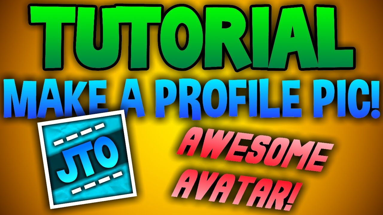 How To Make An Awesome Youtube Profile Picture Avatar Icon Paint Net  Hd Youtube