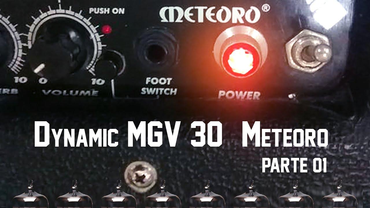 Download Manutenção Amplificador valvulado MGV30 - Meteoro - Parte 1