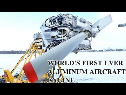 BREAKTHROUGH: Russian Students Design World's First All-Aluminium Aircraft Engine