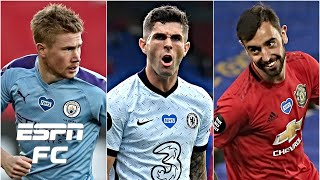 Kevin De Bruyne, Christian Pulisic or Bruno Fernandes: Best Prem player post-lockdown? | ESPN FC