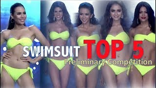 Miss Grand International 2017: TOP 5 Preliminary SWIMSUIT Competition - FULL (HD)