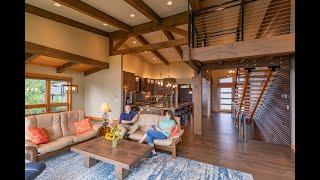 Timber Frame House Northwest Contemporary | Modern Post & Beam