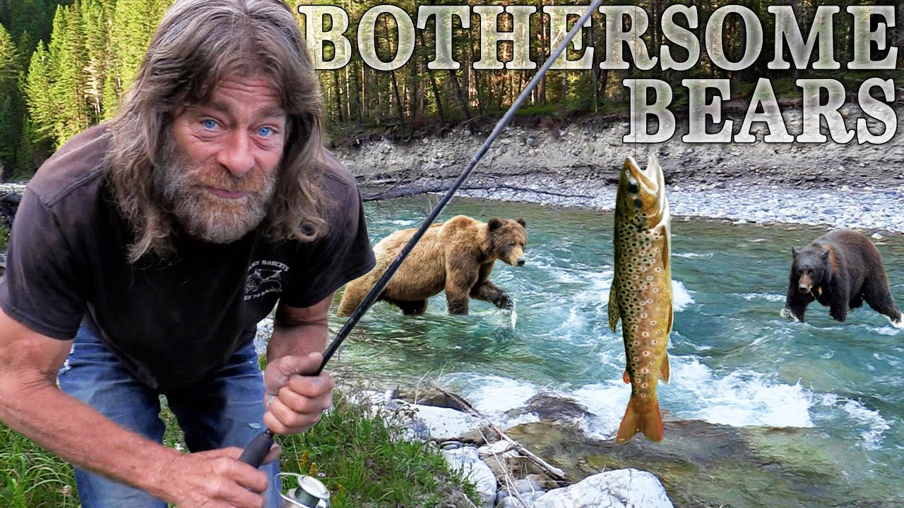 TWO BEARS Crash Bull Trout Catch & Cook Adventure