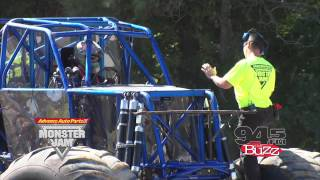 rod ryan goes to monster truck driving school