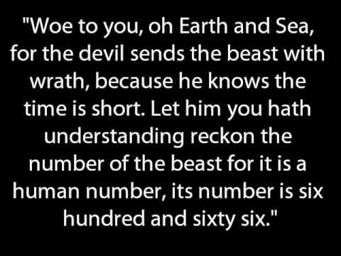 Iron Maiden - The Number Of The Beast Lyrics (HD)