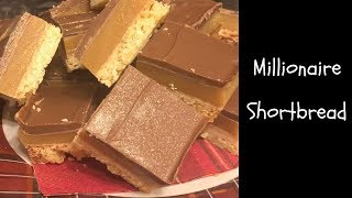 Classic Millionaire Shortbread recipe & cook with me! :)