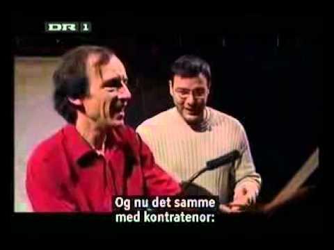 Andreas Scholl demonstrates his baritone