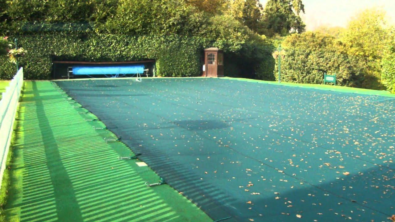 wentworth golf club winter debris swimming pool cover youtube