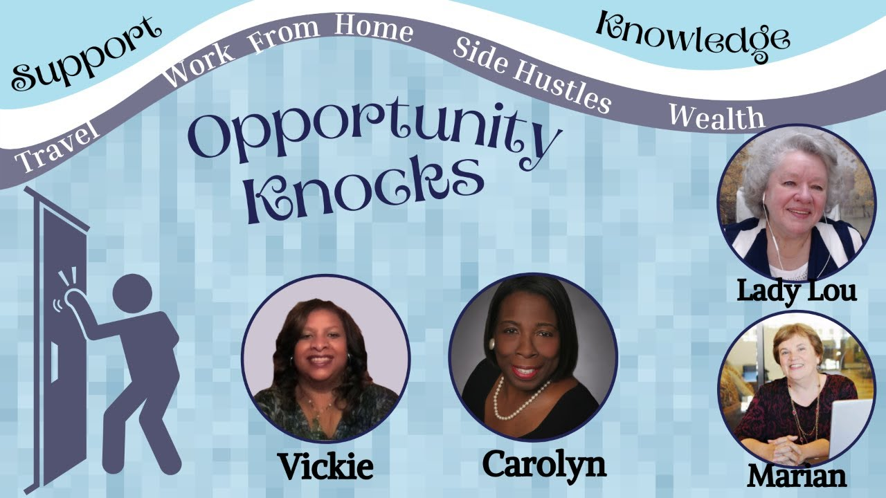 Opportunity Knocks - Knowledge & Support