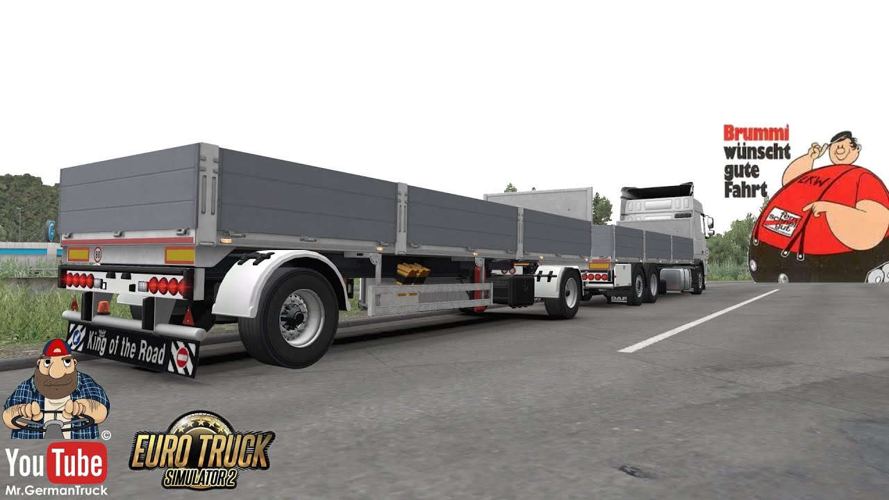 [ETS2 v1.37] BDF Tandem Truck Pack for all SCS Trucks v137.28 *MegaPack*